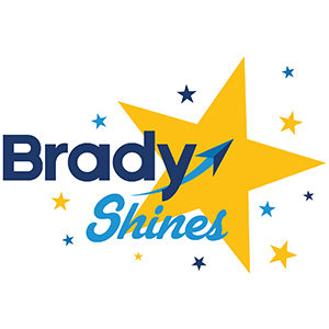 Brady Industries - Brady Shines logo