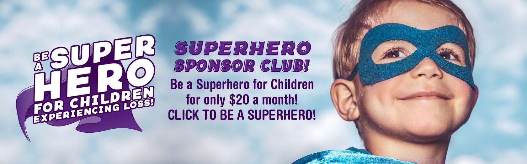 Be A Superhero Sponsor Club