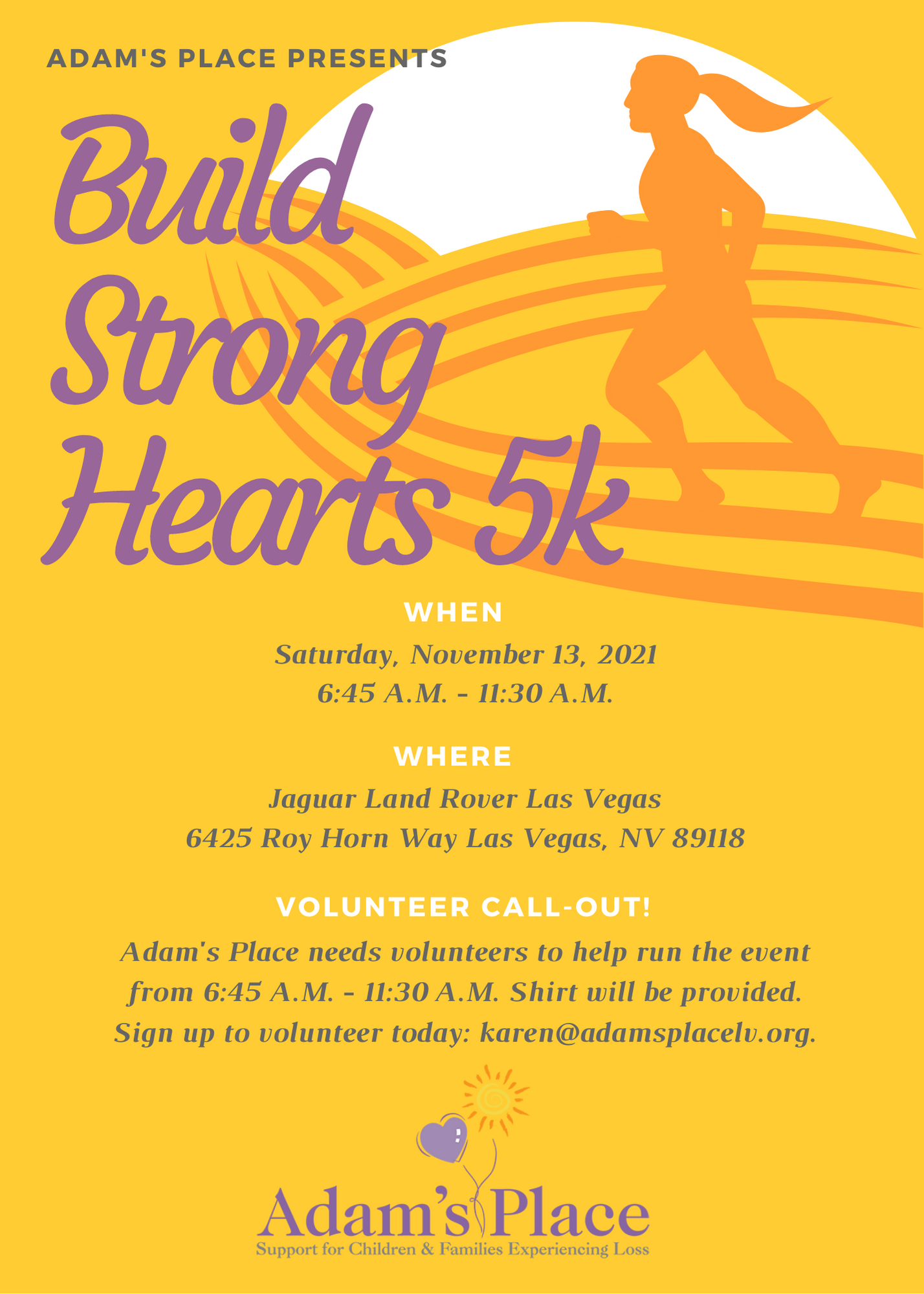 Building Strong Hearts 5K 2021